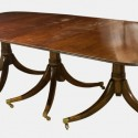 mahogany pedestal dining table , 6 Charming Mahogany Pedestal Dining Table In Furniture Category