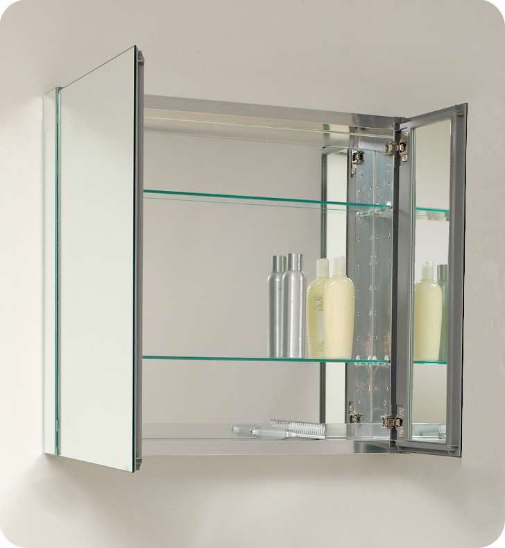 Furniture , 5 Gorgeous Mirrored Medicine Cabinet : medicine cabinets