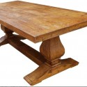 mediterranean dining tables , 7 Charming Custom Reclaimed Wood Dining Table In Furniture Category