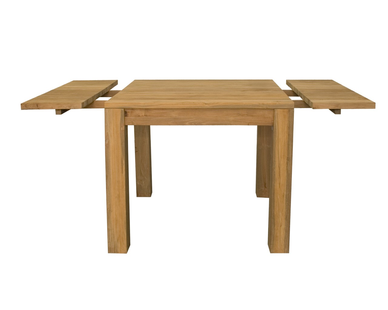 ... Charming Square Extendable Dining Table : Mino Square Extending Table