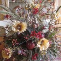 of silk flowers , 8 Excellent Silk Flower Arrangements For Dining Room Table In Apartment Category