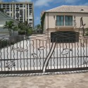ornamental iron , 8 Awesome Driveway Gate Designs In Others Category