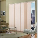 The fabric in the panels can be roller shade material, grasscloth or ... , 4 Awesome Window Treatments For Sliders In Furniture Category