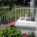 patio furniture , 6 Gorgeous Porch Railing Ideas In Homes Category