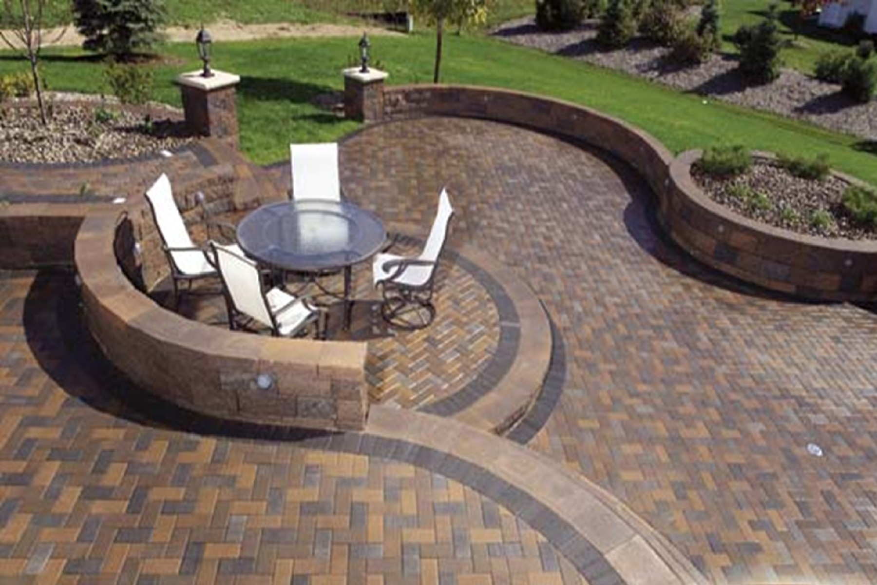 1800x1200px 8 Gorgeous Paver Patio Designs Picture in Others