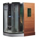 portable steam sauna , 6 Top Sauna Shower Combo In Bathroom Category
