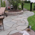 retaining wall , 7 Hottest Flagstone Patio Designs In Others Category