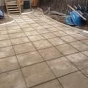 Others , 7 Best Stamped Concrete Patios :  retaining wall design