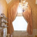 roman shade , 7 Stunning Arched Window Treatments In Furniture Category