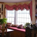 roman shades , 6 Stunning Valances For Bay Windows In Interior Design Category