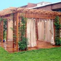 room pergola , 8 Top Outdoor Curtains For Pergola In Homes Category