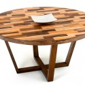 round modern wood dining table , 8 Fabulous  Salvaged Wood Round Dining Table In Furniture Category