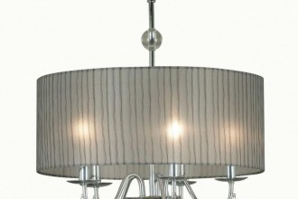 791x1000px 8 Stunning Drum Shade Chandelier Picture in Lightning
