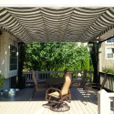 Homes , 8 Top Outdoor curtains for pergola :  shabby chic curtains