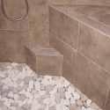 shower tray , 7 Nice Pebble Shower Floor In Bathroom Category