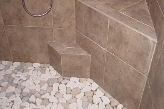 1000x750px 7 Nice Pebble Shower Floor Picture in Bathroom