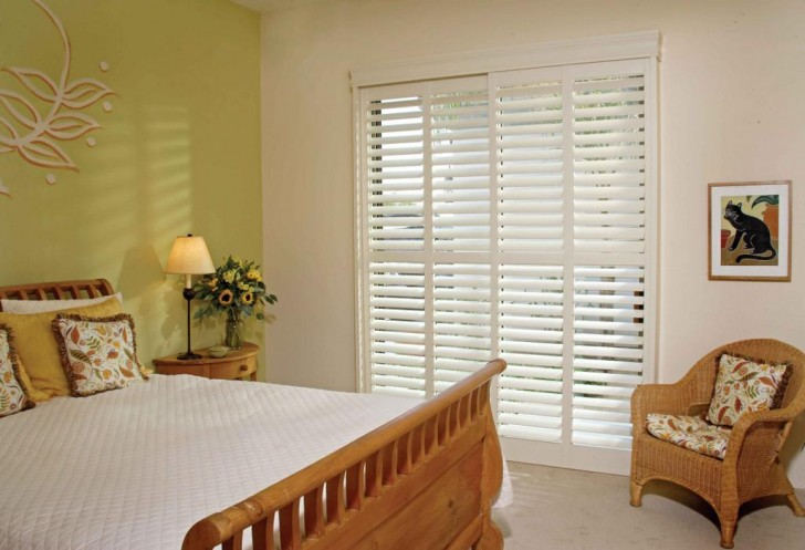 Interior Design , 6 Ideal Window Treatments For Sliding Glass Door : sliding glass door window treatments