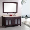 small bathroom , 7 Cool 60 Inch Double Sink Vanity In Furniture Category