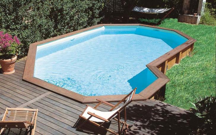 6 awesome semi inground pools for Semi inground pool