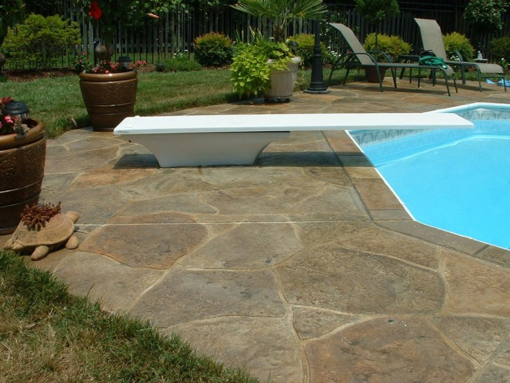 Others , 7 Superb Stamped Concrete Pool Deck : stamped pool deck