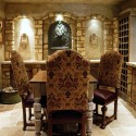 table bases for glass tops , 6 Fabulous Tuscan Dining Room Tables In Dining Room Category