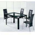 table glass dining table , 7 Awesome Glass Topped Dining Tables In Dining Room Category