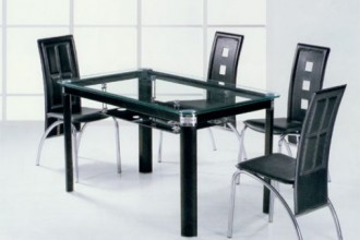 625x600px 7 Awesome Glass Topped Dining Tables Picture in Dining Room