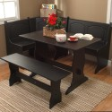 table with oak base , 7 Nice Corner Booth Dining Table In Dining Room Category