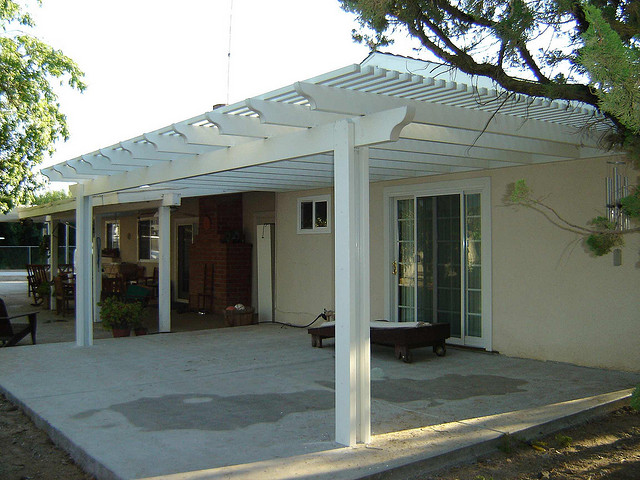 640x480px 8 Fabulous Lattice Patio Cover Picture in Homes