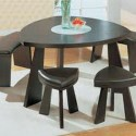 the Dining Table , 7 Awesome Triangle Dining Table With Benches In Dining Room Category