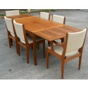the expandable table , 8 Charming Expandable Dining Table Set In Dining Room Category