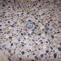 tile flooring , 7 Nice Pebble Shower Floor In Bathroom Category