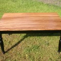 traditional dining tables , 7 Stunning Zebra Wood Dining Table In Furniture Category