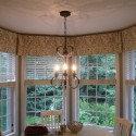 vertical blinds , 6 Stunning Valances For Bay Windows In Interior Design Category