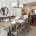 wallpaper dining room accent wall , 7 Cool Restoration Hardware Dining Room Tables In Dining Room Category
