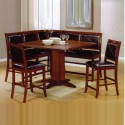 wood dining sets , 7 Best Cheap Counter Height Dining TableSets In Dining Room Category