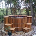 wood hot tub surrounds , 6 Nice Hot Tub Surrounds In Bathroom Category