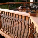 wrought iron deck , 5 Ultimate Wrought Iron Deck Railing In Others Category