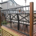 wrought iron doors , 5 Ultimate Wrought Iron Deck Railing In Others Category