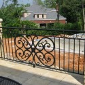 wrought iron gate , 5 Ultimate Wrought Iron Deck Railing In Others Category