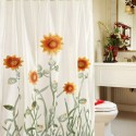 3D Sunflower Shower Curtain , 7 Popular Sunflower Shower Curtain In Others Category