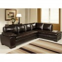 Abbyson Living Tekana Premium Italian , 8 Unique Italian Leather Sectional Sofa In Furniture Category