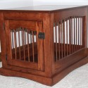 Amish Custom Built Colonial Wooden Dog , 6 Cool Custom Dog Crates In Furniture Category