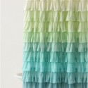 Anthropologie Ruffled Shower Curtain , 7 Best Ruffled Shower Curtain In Others Category