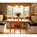 Back Cushions traditional kitchen , 8 Awesome Kitchen Banquette Seating In Dining Room Category