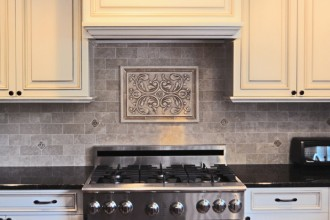 901x514px 7 Cool Backsplash Medallions Picture in Kitchen