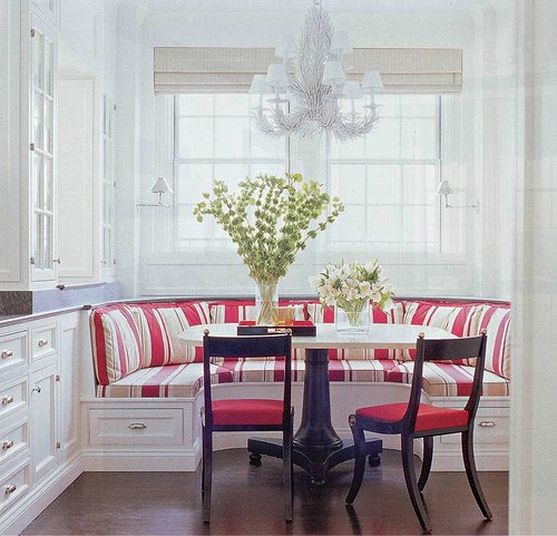 500x481px 8 Awesome Kitchen Banquette Seating Picture in Dining Room