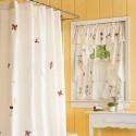 Bathroom window curtains , 8 Stunning Shower Curtains With Matching Window Curtains In Others Category