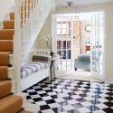 Black and white checks , 10 Good Flooring For Hallways In Others Category
