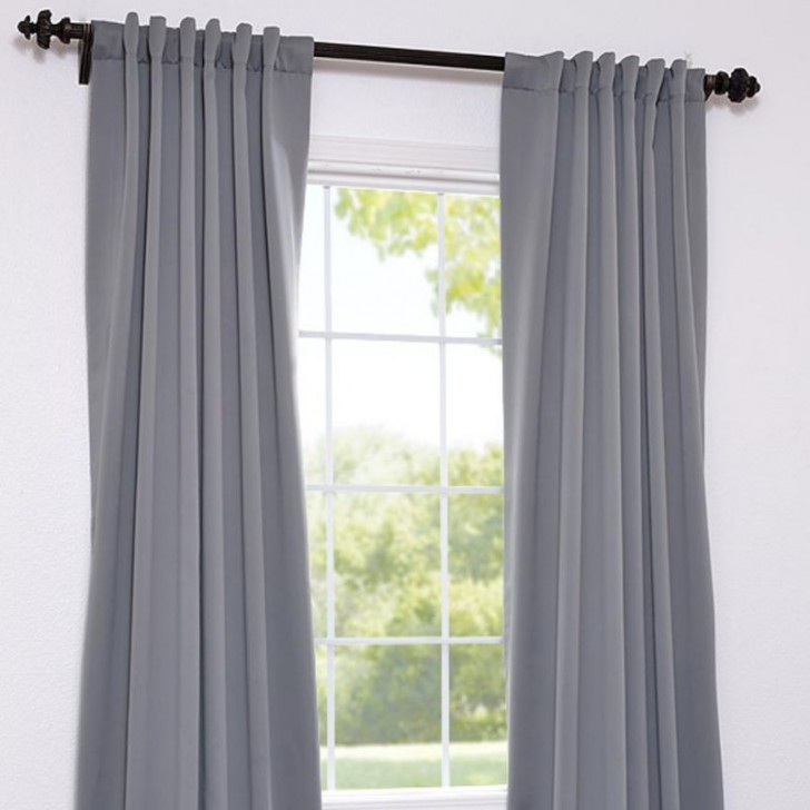 Others , 7 Good Grey Blackout Curtains : Blackout Curtain Panel
